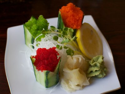 Kanpai offers new kaiten sushi menu