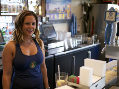 Featured bartender: Leff's Kat Linscott