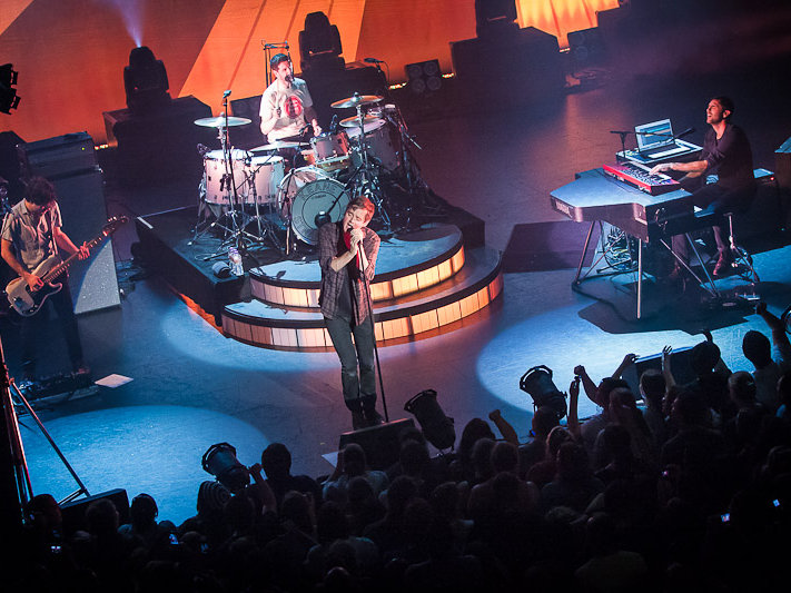 British band Keane put on an unforgettable performance at The Pabst Saturday night.