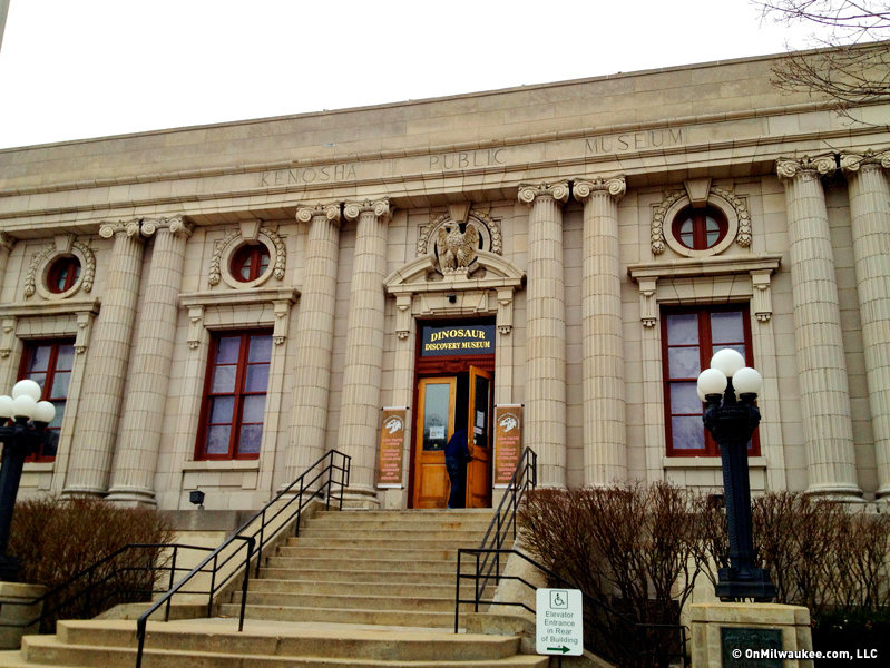 The building was first home to the post office and, later, the Kenosha Public Museum.