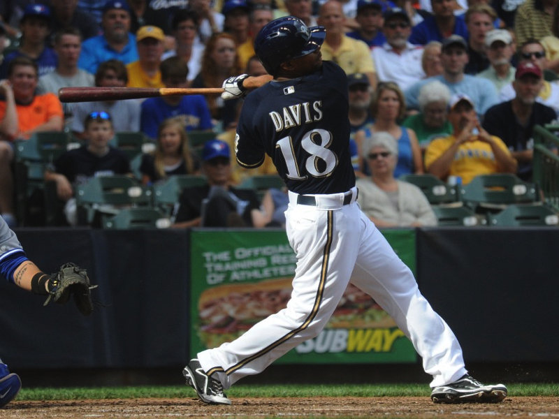 As his second full season got underway, Khris Davis was feeling confident.