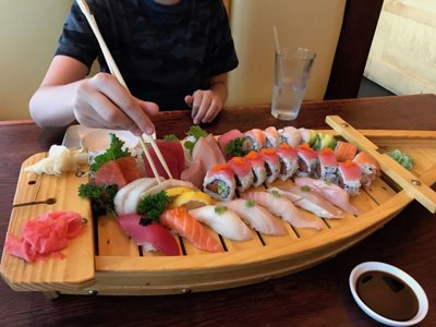 Tips for taking kids out for sushi