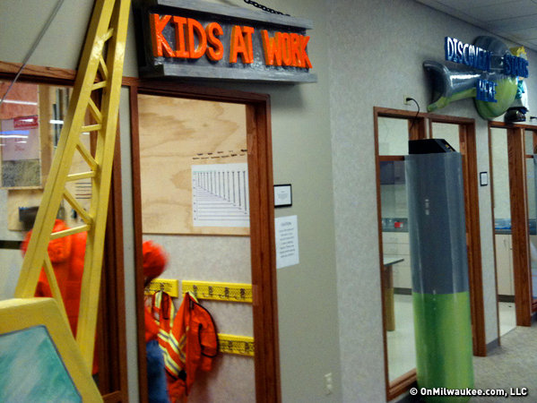 Themed rooms offer fun with science, music, games, laser tag and more.