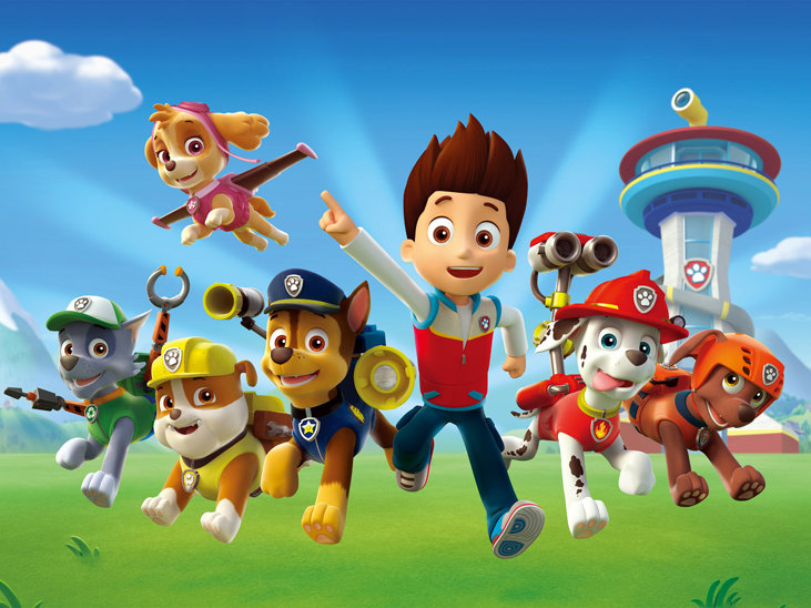 """Paw Patrol"" is a hot, newer kids' show."