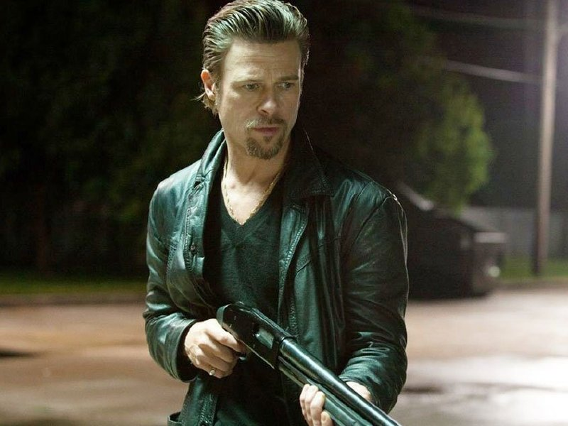 "Brad Pitt in ""Killing Them Softly,"" in theaters now."