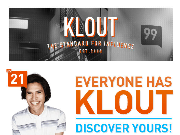 What Klout is doing is using an assigned number to try and tell me who I'm influenced by, and more ridiculously, why I'm influenced.