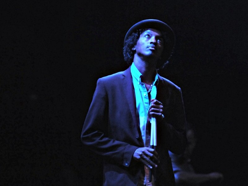 K'NAAN was powerful, and soulful, on July 6 at Summerfest.