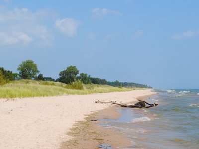 Kohler-Andrae offers camping, lake access, dunes