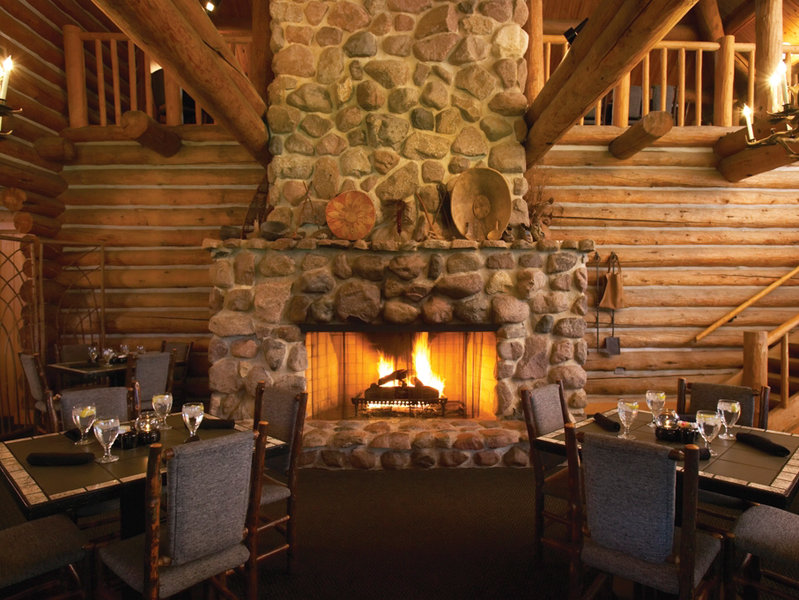 Dining At Blackwolf Run Restaurant Is Like Eating In A Rustic Lodge.
