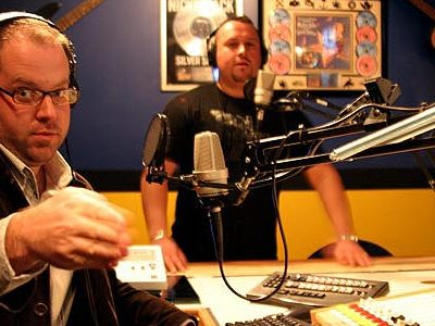 Brian Kramp and Jon Adler have been the morning show hosts on 102.1 since 2006.
