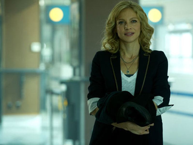 "Kristin Lehman plays Det. Angie Flynn on ABC's ""Motive."""