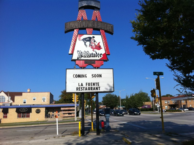 Venerable El Matador on Bluemound Road will soon re-open as La Fuente.