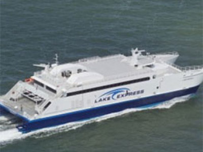 Lake Express restores traditional ferry link Image