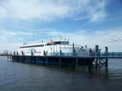 Lake Express Ferry celebrates 10 years Image