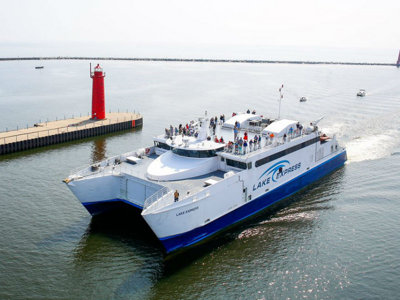 Lake Express Ferry begins service season on April 29 Image