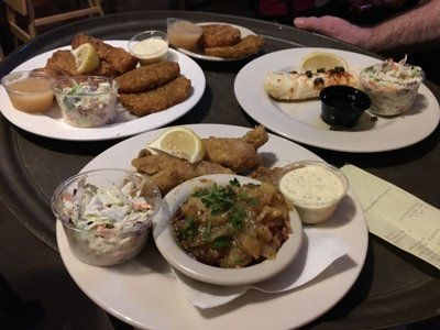 Rapid Review: Lakefront Beer Hall's fish fry