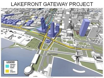 A lakefront facelift