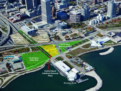 City of Milwaukee asks for feedback on Lakefront Gateway Plaza designs