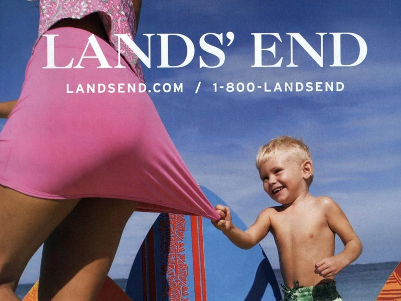 Lands' End is a cothing company based in Dodgeville, Wis.