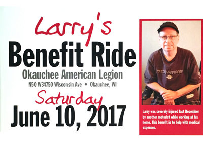 Larry Hansen benefit ride Image