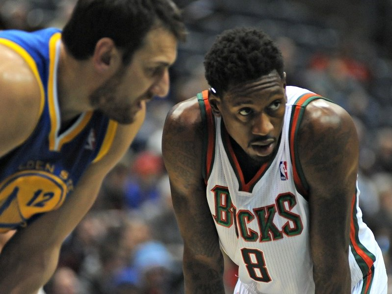 Larry Sanders remains a member of the Milwaukee Bucks as of the team's Wednesday night practice.