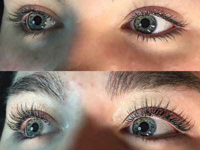 Get lifted lashes at CORA Beauty + Spa
