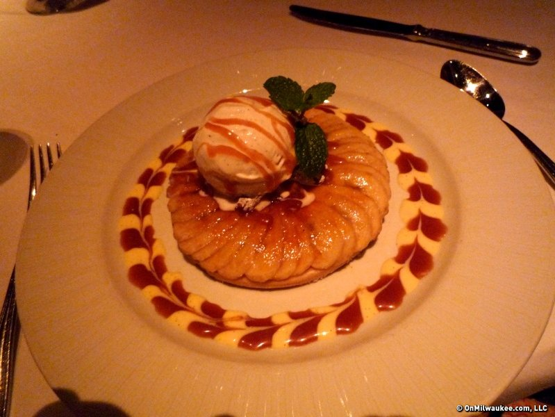 strip house dessert