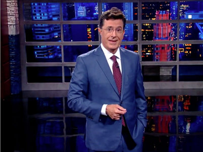 Colbert's Late Show debut