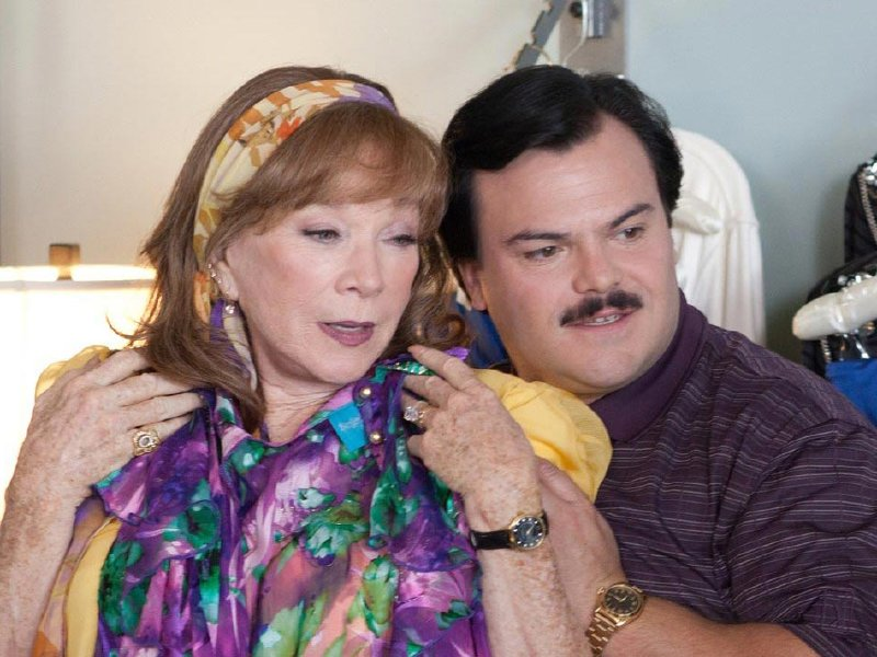 "Jack Black stars in ""Bernie,"" onscreen at the Oriental Theatre."
