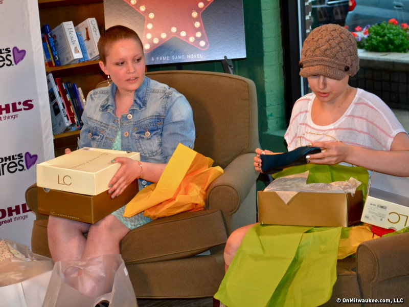 Conrad gave free clothes to patients from Children's Hospital.