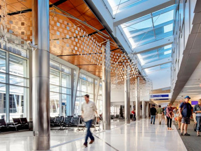 Mitchell Airport baggage claim earns  LEED certification Image