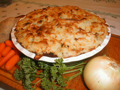 Just in time for fall, shepherd's pie.