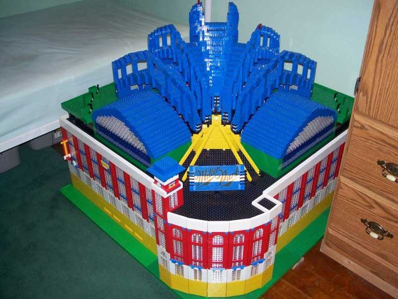 MSOE student constructs field of dreams with Legos - OnMilwaukee