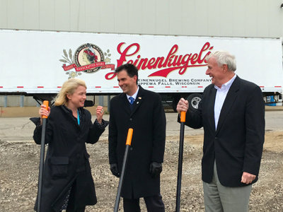 Leinenkugel's breaks ground on Tenth Street Brewery expansion