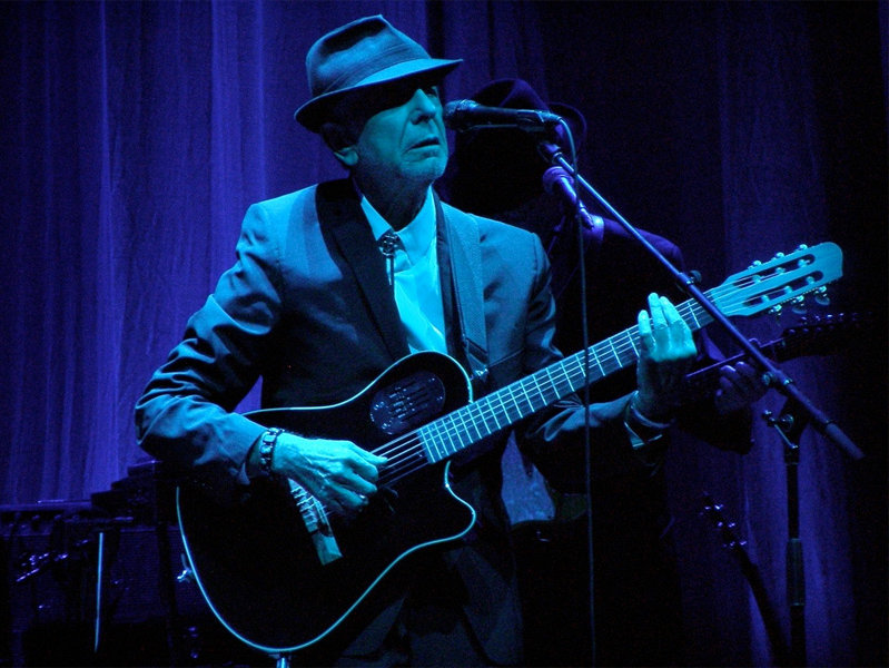 Leonard Cohen performs at the Milwaukee Theatre on March 15.