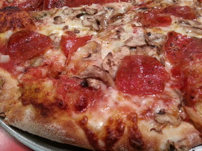 In search of the perfect pizza: Leonardo's Pizza Parlor