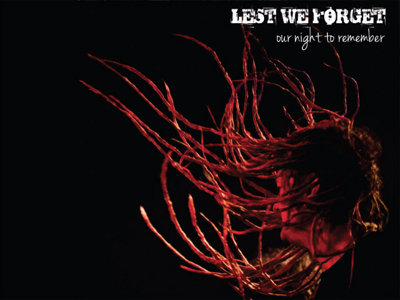 Lest We Forget concert CD Image