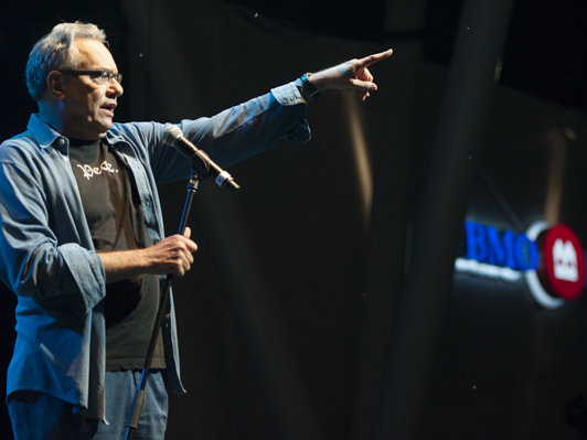 Summerfest favorite Lewis Black returned to the Big Gig on July 5 (Photo: Summerfest).