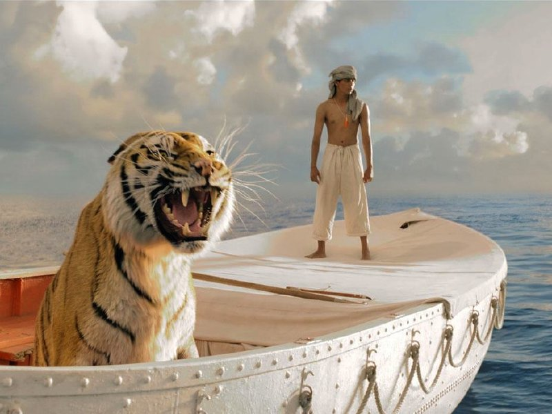"Ang Lee's ""Life of Pi"" is in theaters now."