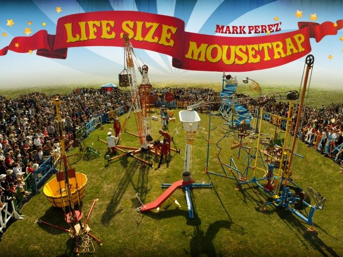 Life Size Mousetrap coming to town