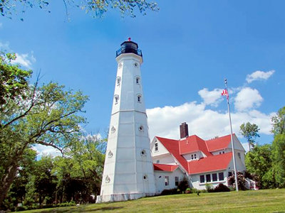 North Point Lighthouse hosts Graef book signing