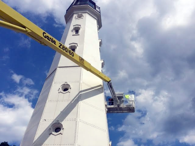 North Point Lighthouse is putting on a fresh face
