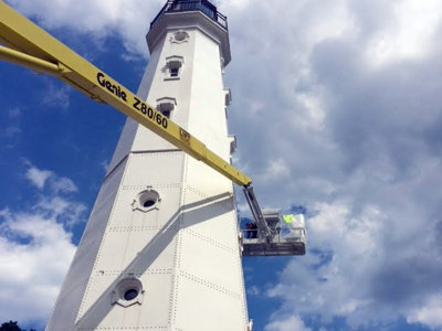 North Point Lighthouse is putting on a fresh face Image