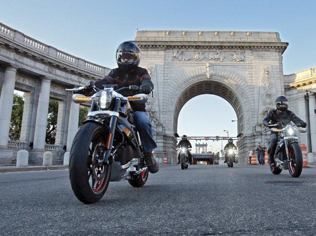 24f663bc Harley-Davidson goes electric (sort of)