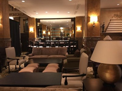 The Pfister's Lobby Lounge undergoes major renovation