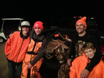 Hunters celebrate solace, nature, family, food