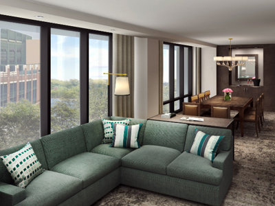 Green Bay's new Titletown district Kohler hotel taking reservations