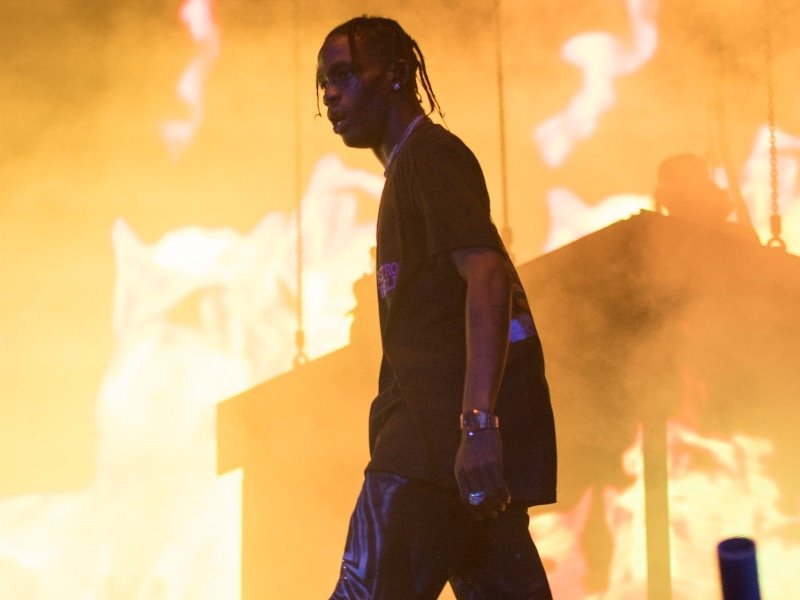 47f35c1b1e6 Travis Scott was one of the headlining acts at Lollapalooza Day 1.