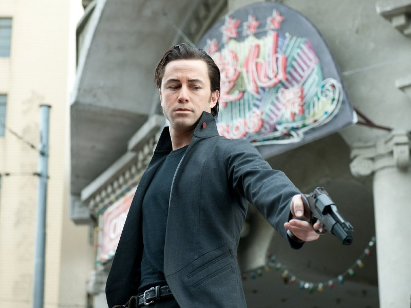 "Joseph Gordon-Levitt stars in ""Looper,"" in theaters now."