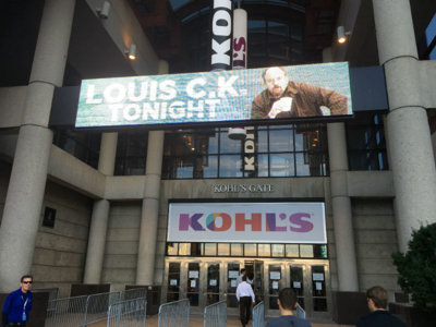 Louis C.K. returns to his angry self at his BMO Harris Bradley Center show